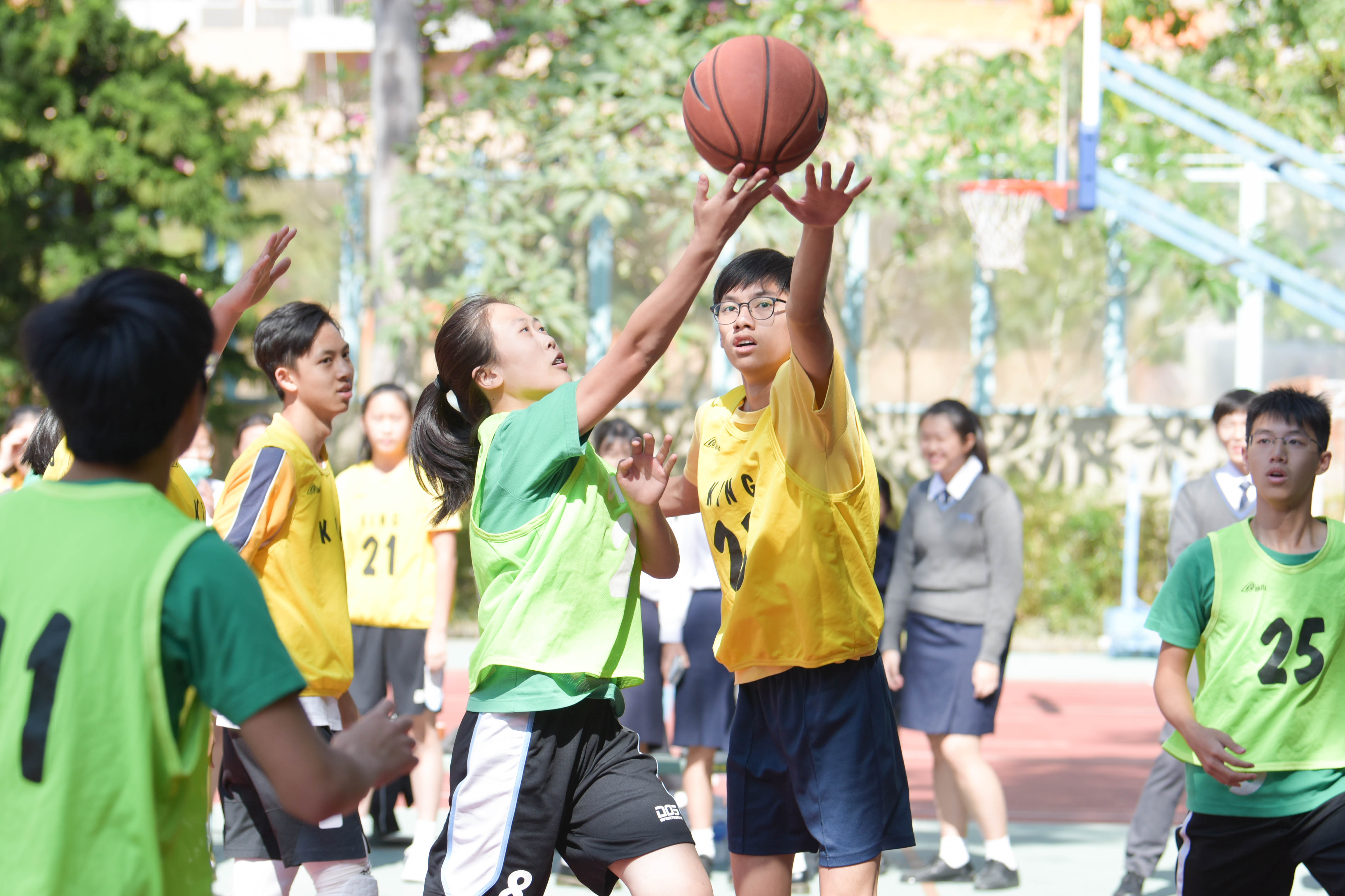 Inter-house Basketball Competition 2019