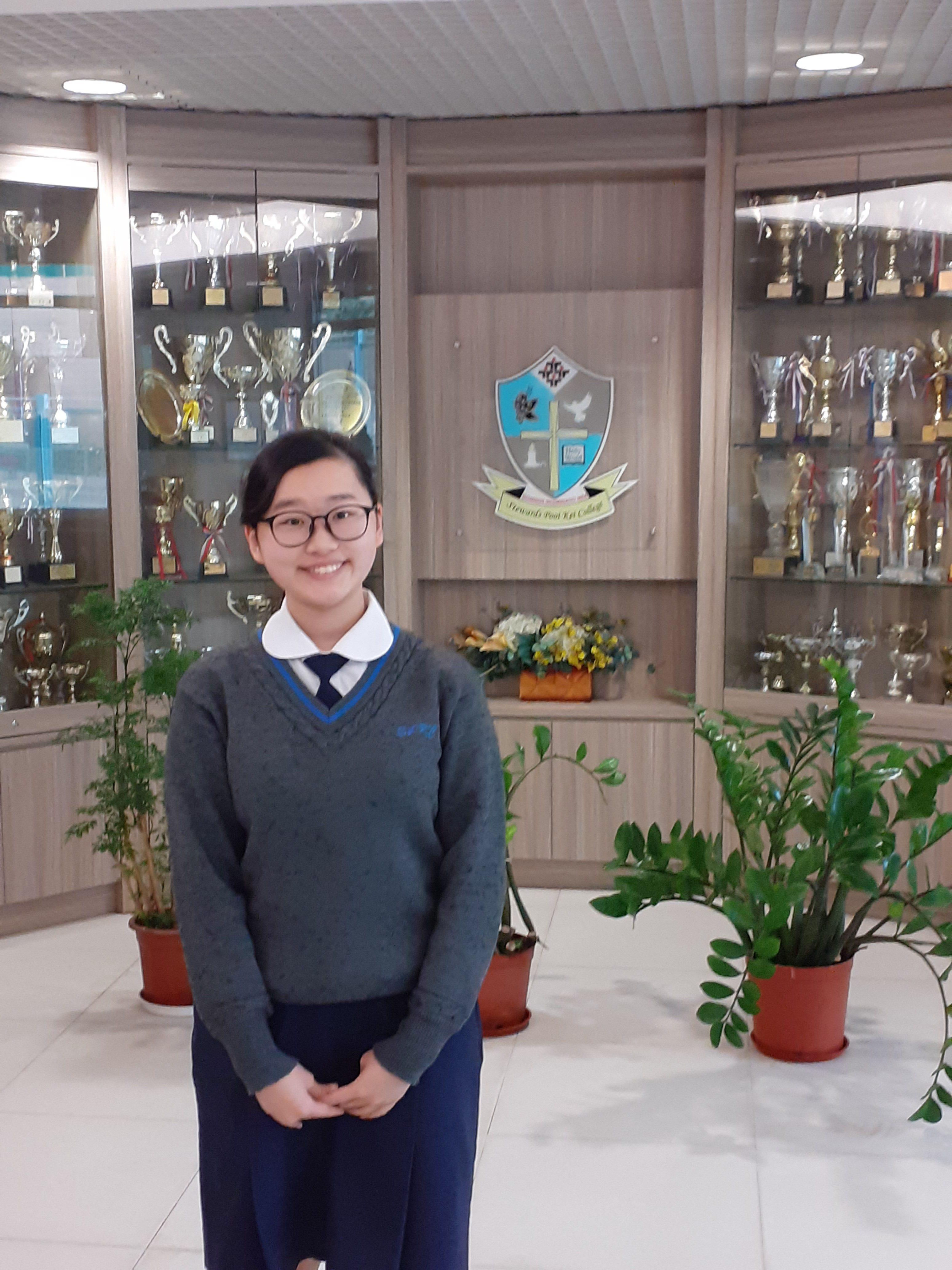黃悅嘉同學榮獲「沙田區十大傑出學生選舉大獎」